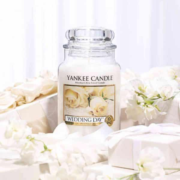 Wedding Day Yankee Candle - Candle Store