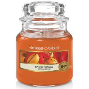 Spiced Orange Yankee Candle - Candele In Giara Piccola 104gr - Candlestore.eu