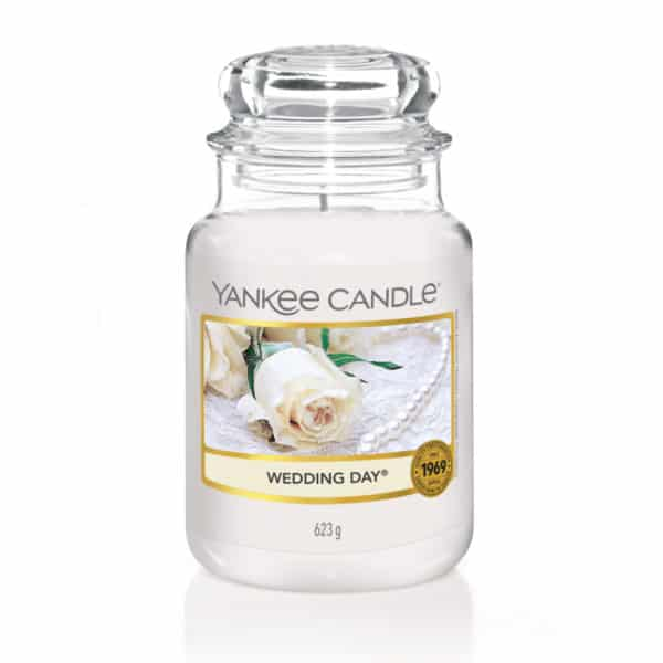 Yankee Candle Wedding Day - Candele In Giara Grande 623 gr - Candlestore.eu