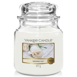 Wedding Day Yankee Candle - Candele In Giara Media 411gr - Candlestore.eu