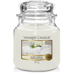 Fluffy Towels Yankee Candle - Candele In Giara Media 411gr - Candlestore.eu