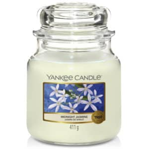 Midnight Jasmine Yankee Candle - Candele In Giara Media 411 gr - Candlestore.eu