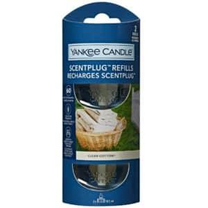 Clean Cotton - Ricariche Per Profumatore Elettrico Yankee Candle