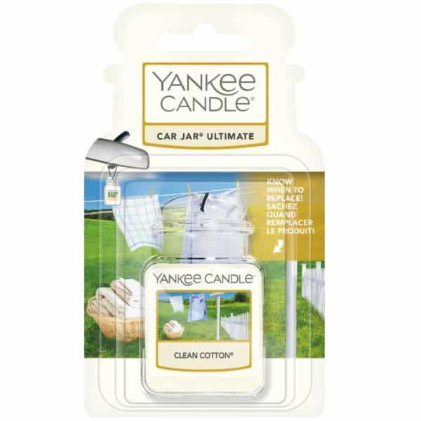 Clean Cotton - Car Jar Ultimate Yankee Candle - Candlestore.eu