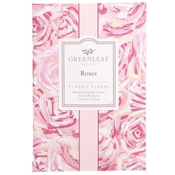 Greenleaf Roses - Buste Profumate Per Armadi - Candlestore.eu