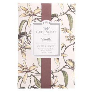 Greenleaf Vanilla - Buste Profumate Grandi Per Armadi - Candlestore.eu