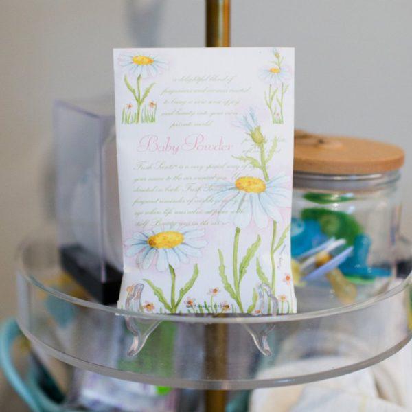 Fresh Scents Baby Powder - Buste Profumate Grandi Per Armadi - Candlestore.eu