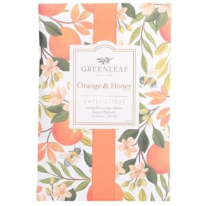 Greenleaf Orange & Honey - Buste Profumate Grandi Per Armadi - Candlestore.eu