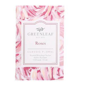 Greenleaf Roses - Buste Profumate Mini Per Cassetti - Candlestore.eu