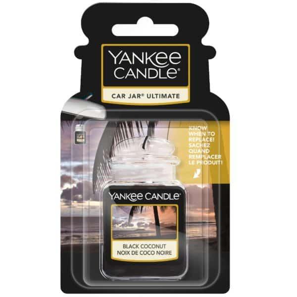 Black Coconut - Car Jar Ultimate Yankee Candle - Candlestore.eu
