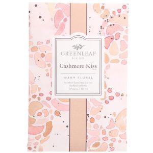 Greenleaf Cashmere Kiss - Buste Profumate Grandi Per Armadi - Candlestore.eu