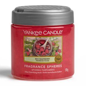 Red Raspberry Yankee Candle - Sfere Profumate Elimina Odori - Candlestore.eu