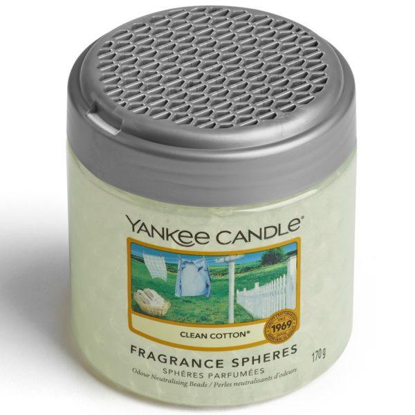 Clean Cotton - Sfere Profumate Elimina Odori Yankee Candle