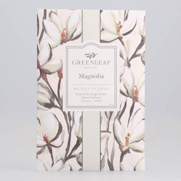 Greenleaf Magnolia - Buste Profumate Grandi Per Armadi - Candlestore.eu