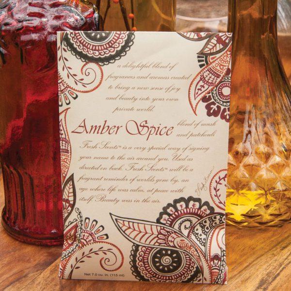 Fresh Scents Amber Spice - Buste Profumate Grandi Per Armadi - Candlestore.eu