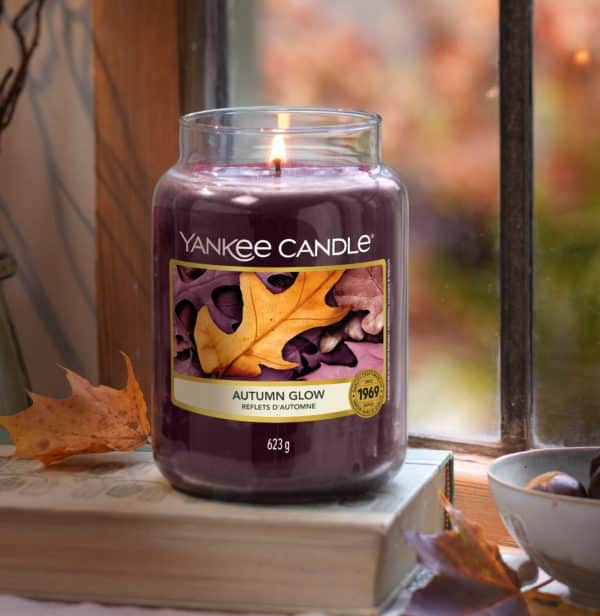 Autumn Glow Yankee Candle - Candele In Giara Grande 623gr - Candlestore.eu