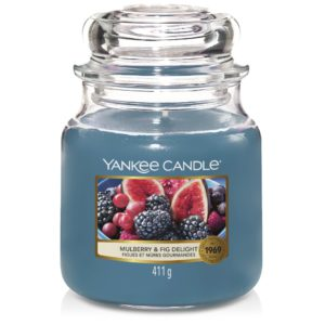 Mulberry & Fig Delight Yankee Candle - Candele In Giara Media 411gr - Candlestore.eu