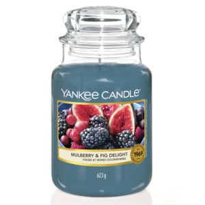Mulberry & Fig Delight Yankee Candle - Candele In Giara Grande 623gr - Candlestore.eu