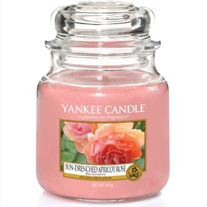 Sun-Drenched Apricot Rose - Candele In Giara Media Yankee Candle - Candle Store
