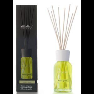 Lemongrass - Diffusore a Bastoncini 250 ml Millefiori Milano - Candlestore.eu
