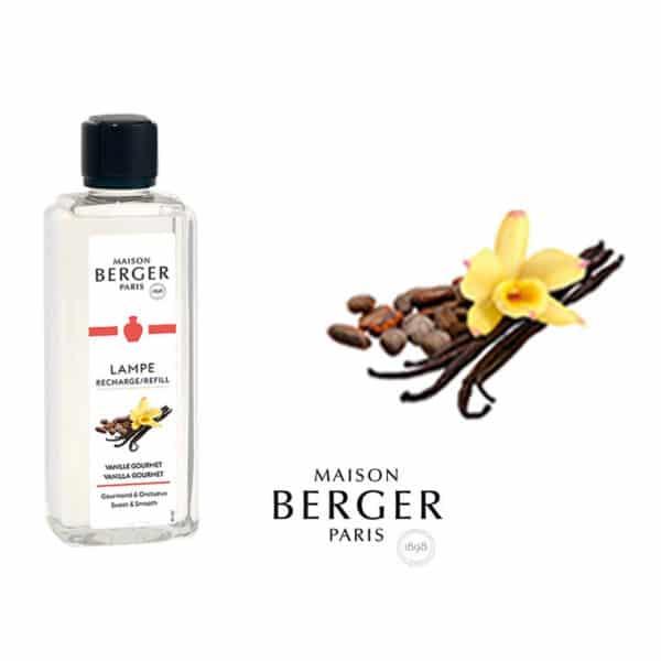Lampe Berger - Vaniglia Gourmet (Vanille Gourmet) Flacone 500 ml - Candlestore.eu