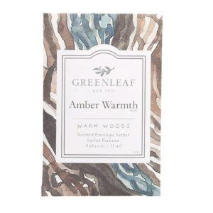 Greenleaf Amber Warmth - Buste Profumate Mini Per Cassetti - Candlestore.eu