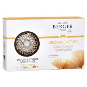 Maison Berger - Profumatore Per Auto Aroma Energy - Candlestore.eu