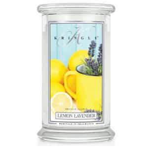 Lemon Lavender - Candela in Giara Grande Kringle Candle