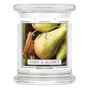 Anjou & Allspice - Candele in Giara Media Kringle Candle - Candlestore.eu