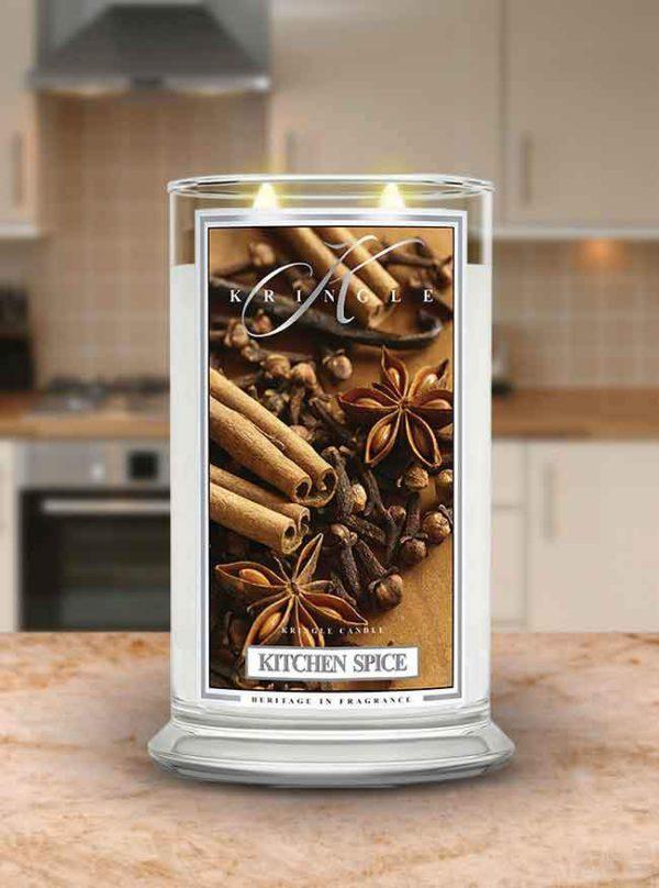 Kitchen Spice - Candele in Giara Grande Kringle Candle - Candlestore.eu