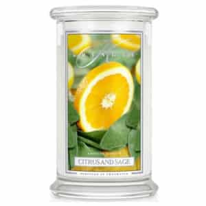 Citrus & Sage Kringle Candles - Candela Grande - Candlestore.eu
