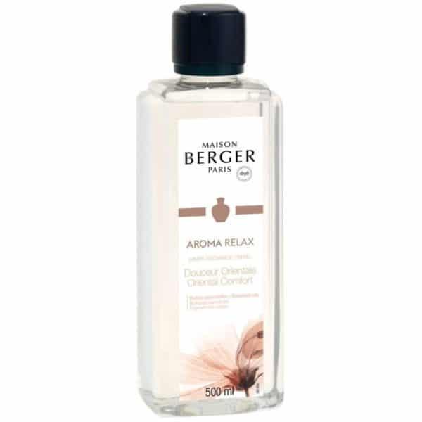 Maison Berger - Aroma Relax - Ricarica Di Profumo Per Lampada Catalitica 500ml - Candlestore.eu