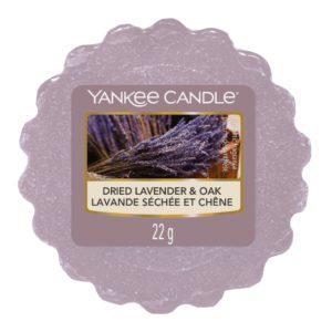Dried Lavender & Oak Yankee Candle - Tart Da Fondere 22gr - Candlestore.eu