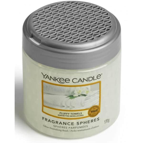 Fluffy Towels - Sfere Profumate Elimina Odori Yankee Candle - Candlestore.eu