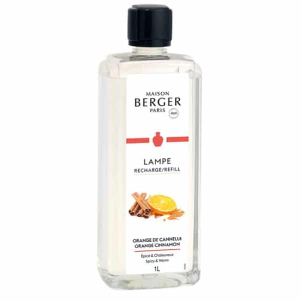Maison Berger Orange de Cannelle - Ricarica Di Profumo Per Lampada Catalitica 1L - Candlestore.eu