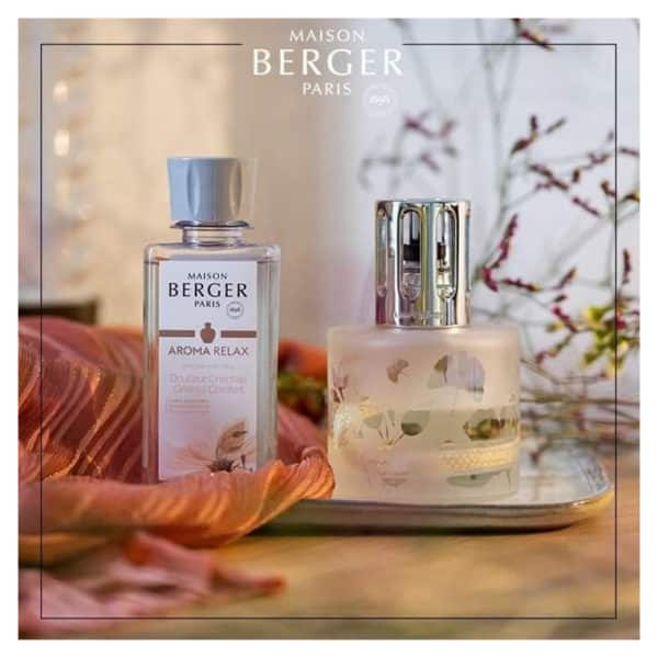 Cofanetto Regalo Aroma Relax - Lampada Catalitica + 1 Ricarica 180ml - Maison Berger