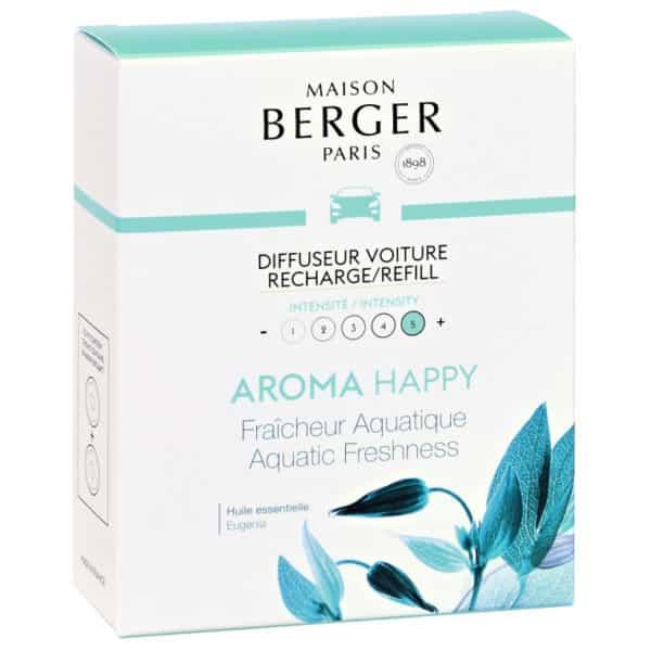 Confezione 2 Ricariche Auto AROMA HAPPY - Maison Berger