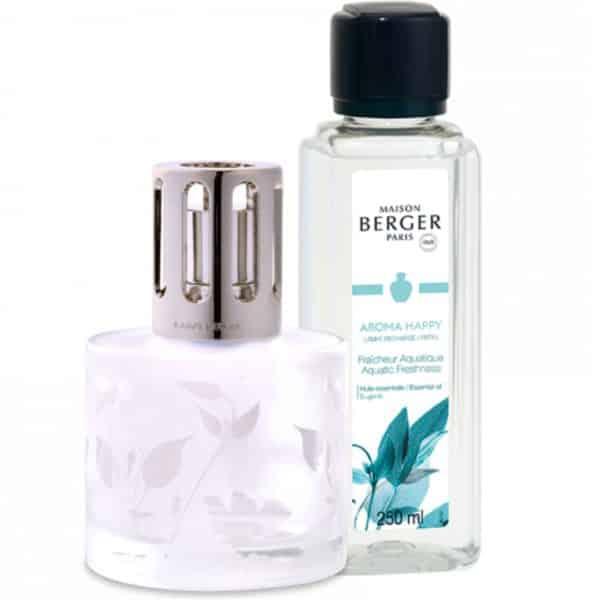 Maison Berger - Cofanetto Aroma Happy - Lampada Catalitica + 1 Ricarica 250ml - Candlestore.eu