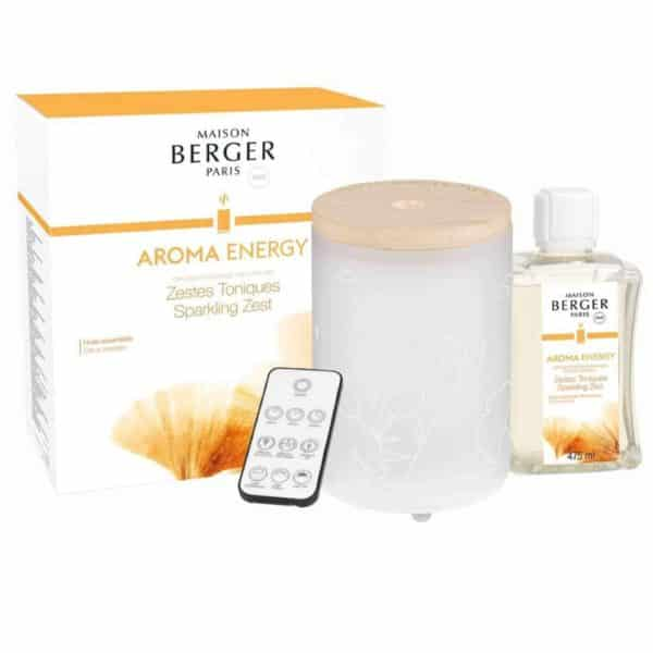Maison Berger - Diffusore Elettrico Aroma Energy+ Ricarica 475ml - Candlestore.eu