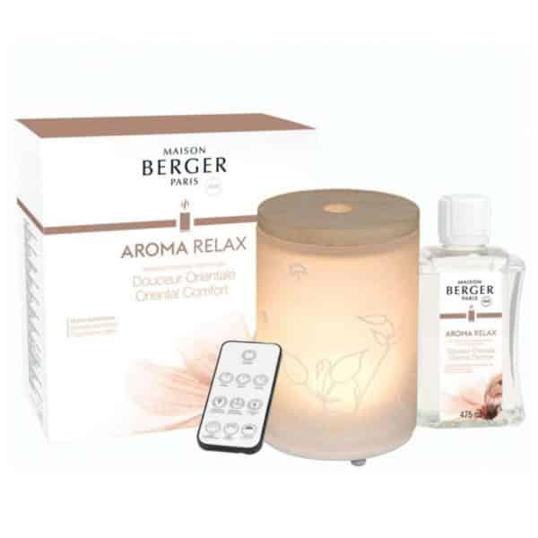 Maison Berger - Diffusore Elettrico Aroma Relax + Ricarica 475ml - Candlestore.eu
