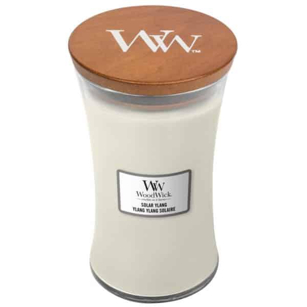 Solar Ylang - Candela Grande WoodWick Candles - Candlestore.eu