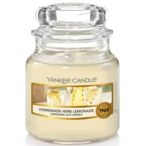 Homemade Herb Lemonade - Candela In Giara Piccola Yankee Candle - Candlestore.eu