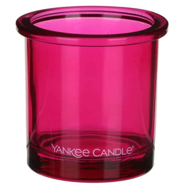 Porta Candele Sampler / Tea Light Rosa - Pop Yankee Candle - Candlestore.eu