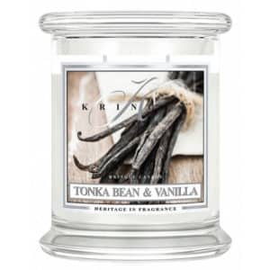 Tonka Bean & Vanilla - Candela In Giara Media Kringle Candle - Candlestore.eu