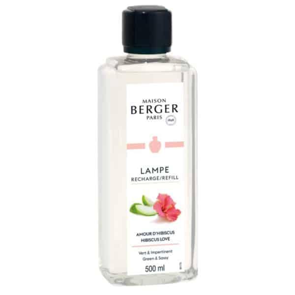 Maison Berger - Cofanetto Lampada Catalitica Glacon Rosa Antico + 1 Ricarica 250ml Amour d'Hibiscus - Maison Berger - Candlestore.eu