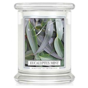 Eucalyptus Mint - Candele in Giara Media Kringle Candle - Candlestore.eu