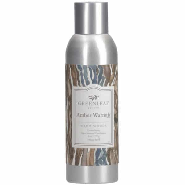 Greenleaf Amber Warmth - Spray Per Ambiente 200ml - Candlestore.eu