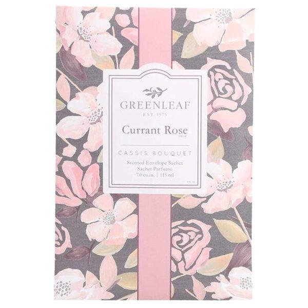 Greenleaf Currant Rose - Buste Profumate Grandi Per Armadi - Candlestore.eu