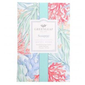 Greenleaf Seaspray - Buste Profumate Grandi Per Armadi - Candlestore.eu