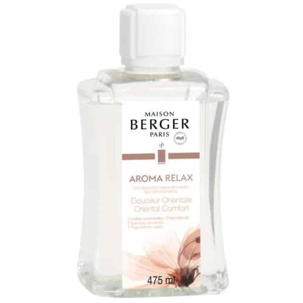 Maison Berger - Ricarica Aroma Relax 475ml Per Diffusore Elettrico Aroma - Candlestore.eu